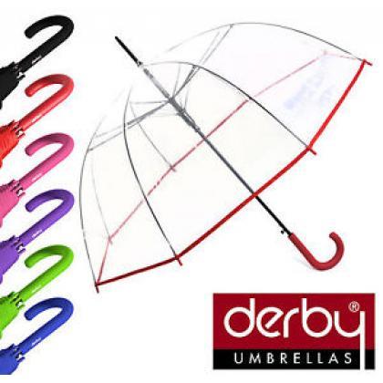 Derby: A derby esernyők minden releváns darabot tartalmaznak a  kézi működtetéstől az automatikus darabokig bezárólag.