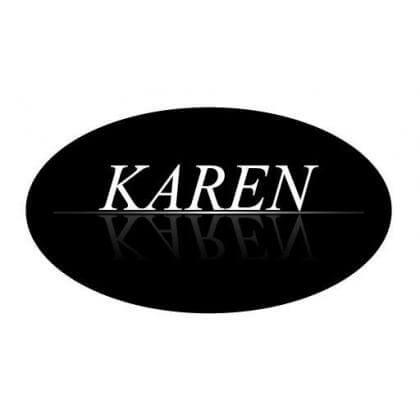 Karen: A Karen márka modelljei kiváló minőségű matt és fényes rostbőrből készülnek.