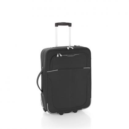 Gabol Malaysia 2 kerék 55 cm Fekete Unisex Kabinbőrönd