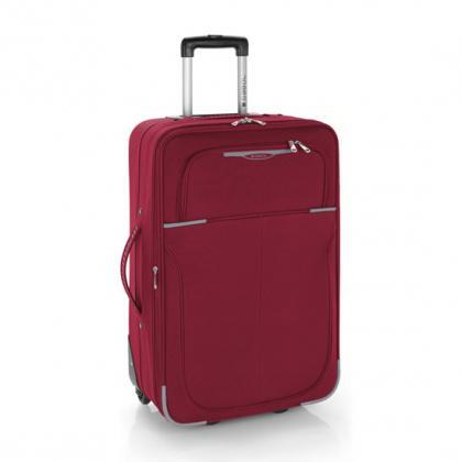 Gabol Malaysia 2 kerék 66 cm Piros Unisex Puhafedeles bőrönd