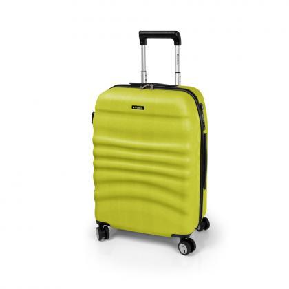 Gabol Wrinkle M Zöld Unisex Keményfedeles bőrönd