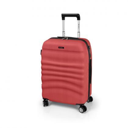 Gabol Wrinkle M Narancssárga Unisex Keményfedeles bőrönd