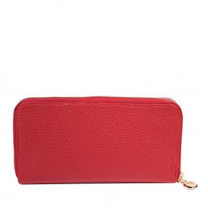 Bags and more Abree Piros Női Bőr Pénztárca
