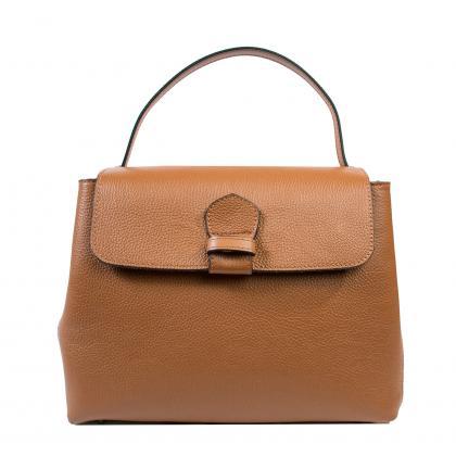 Bags and more Acele Világos barna Női Bőr Kézitáska