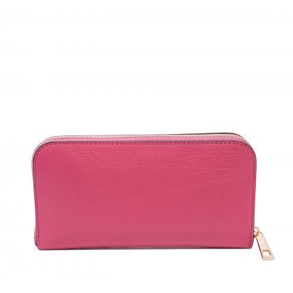 Bags and More Alana Pink Női Bőr Pénztárca