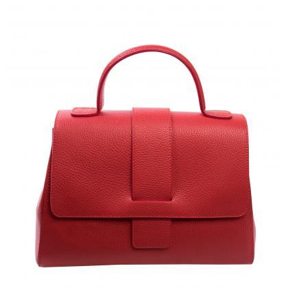 Bags and more Amy Piros Női Bőr Kézitáska