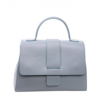 Bags and more Amy Világos kék Női Bőr Kézitáska