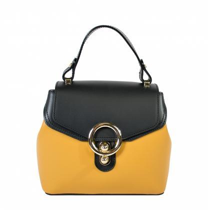Bags and more Arabella Bőr Ősz sárga Női Kézitáska
