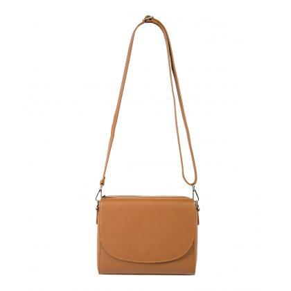 Bags and more Armella Világos barna Női Váll és oldaltáska