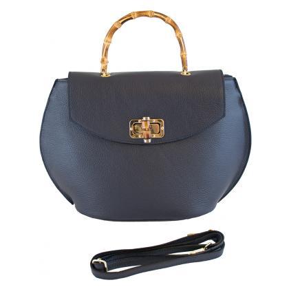 Bags and more Ciana Kék Női Bőr Kézitáska