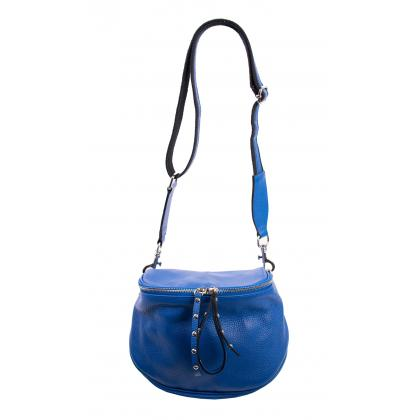 Bags and more Claire Király kék Női Bőr Oldaltáska