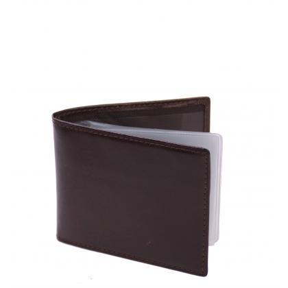 Bags and more Cleveland Barna Bőr Kártyatartó