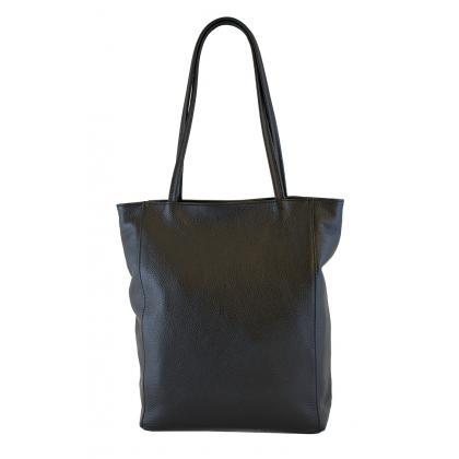 Bags and more Concetta Fekete Női Bőr Válltáska