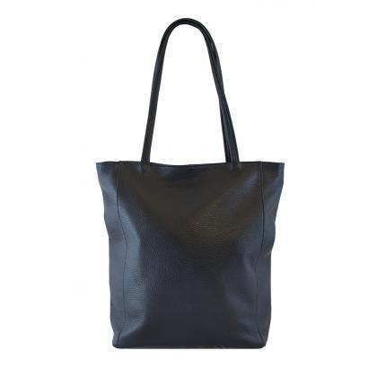 Bags and more Concetta Sötétkék Női Bőr Válltáska