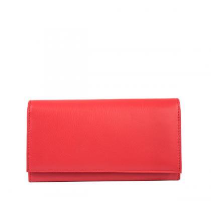 Bags and more Constanzie Piros Női Pénztárca
