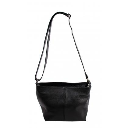 Bags and more Dezi Fekete Női Bőr Oldaltáska