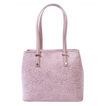 Bags and more Donnylyn Mályva Női Bőr Válltáska