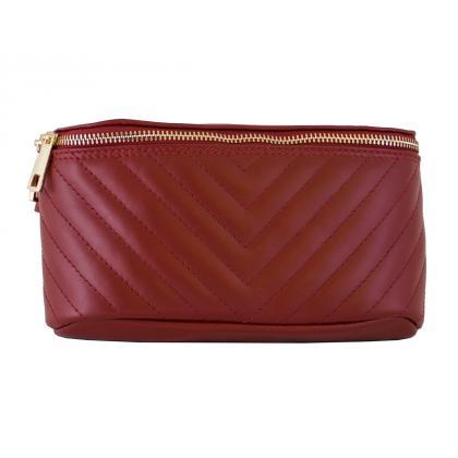 Bags and more Elda Piros Női Övtáska