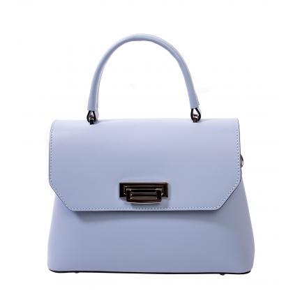Bags and more Eve Világos kék Női Bőr Kézitáska