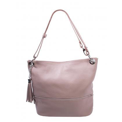 Bags and more Fina Púder Női Bőr Válltáska