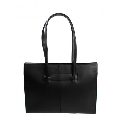 Bags and more Fulvia Fekete Női Bőr Válltáska