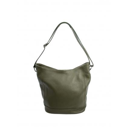 Bags and more Gavino Keki Női Bőr Válltáska