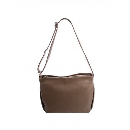 Bags and more Gia Homok Női Bőr Oldaltáska