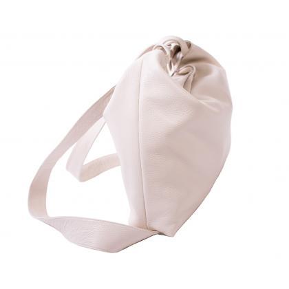 Bags and more Gilda Bézs Női Bőr Hátizsák