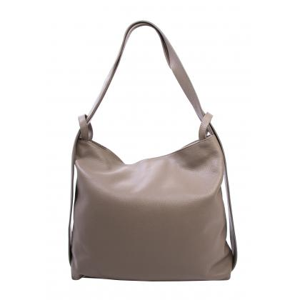 Bags and more Gilda Homok Női Bőr Váll és Hátitáska