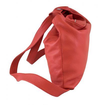 Bags and more Gilda Kicsi Piros Női Hátizsák