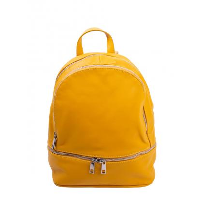 Bags and more Gisel Ősz sárga Női Bőr Hátizsák