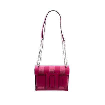 Bags and more Helga Pink Női Bőr Oldaltáska