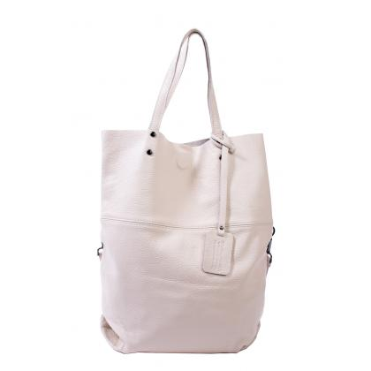Bags and more Janet Bézs Női Bőr Válltáska