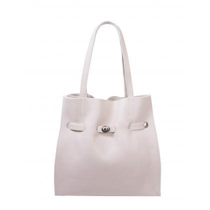 Bags and More Kitana Bézs Női Bőr Válltáska