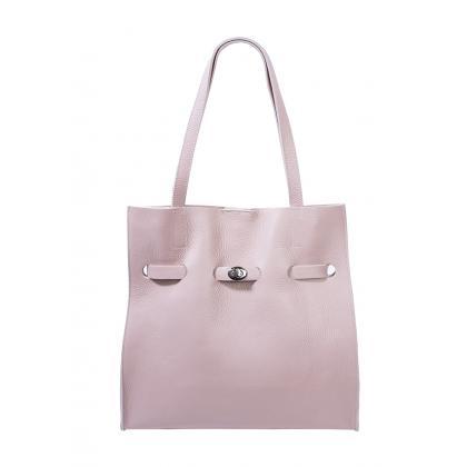 Bags and More Kitana Púder Női Bőr Válltáska