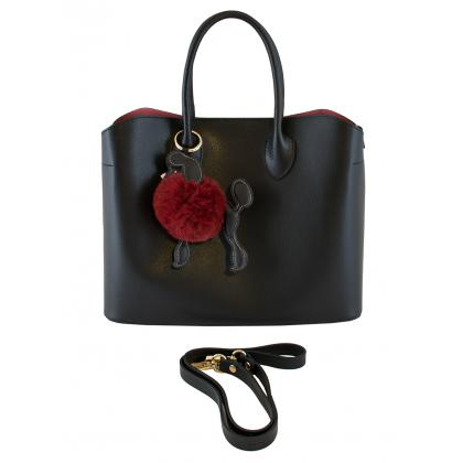 Bags and more Krisztina Fekete-Piros Női Kézitáska