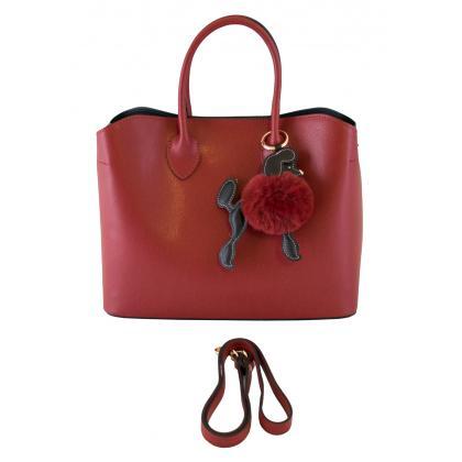 Bags and more Krisztina Piros Női Kézitáska