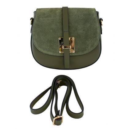 Bags and more Lucilla Keki Női Bőr Oldaltáska