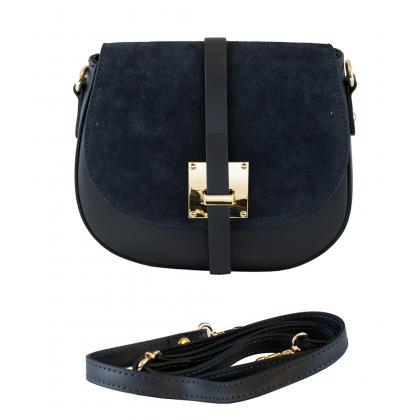 Bags and more Lucilla Sötét kék Női Oldaltáska
