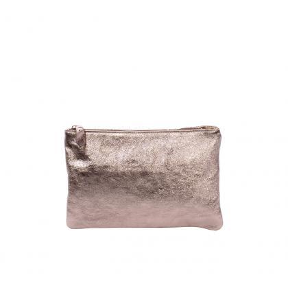 Bags and more Manlio Bronz Női Bőr Kézitáska