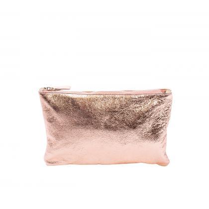 Bags and more Manlio Rosegold Női Bőr Kézitáska
