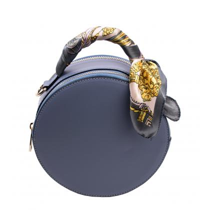 Bags and more Matilda Világos kék Női Bőr Kézitáska