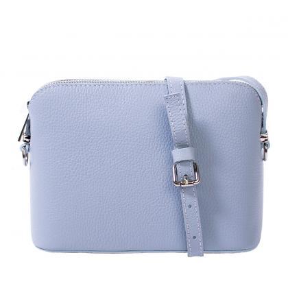 Bags and more Milla Világos kék Női Bőr Oldaltáska
