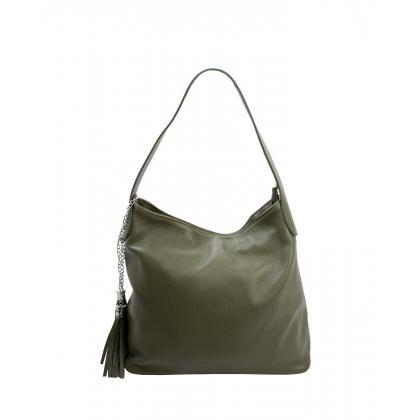 Bags and more Morella Keki Női Bőr Válltáska