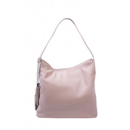Bags and more Morella Púder Női Bőr Válltáska