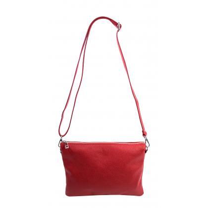 Bags and more Nino Piros Női Bőr Oldaltáska