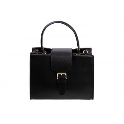 Bags and more PAOLA Fekete Női Bőr Divattáska