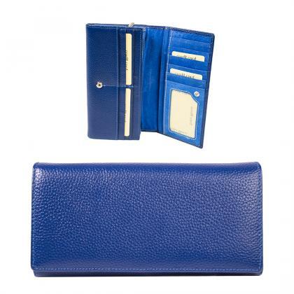 Bags and more Valeria Kék Női pénztárca