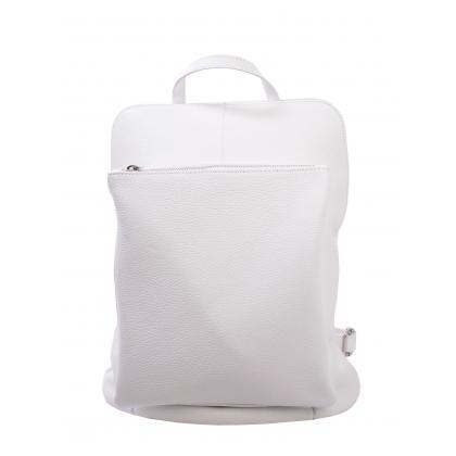 Bags and more Vectra Fehér Női Bőr Hátizsák