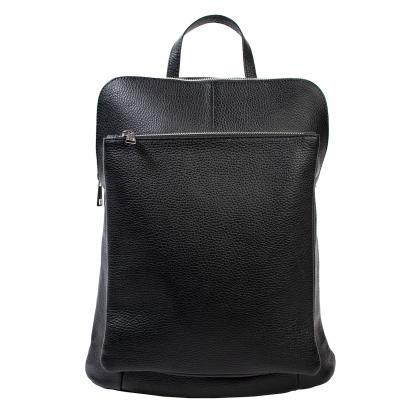 Bags and more Vectra Fekete Női Bőr Hátizsák